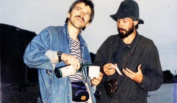 Иркутский порт. Дьяконов и Андреев пьют портвейн