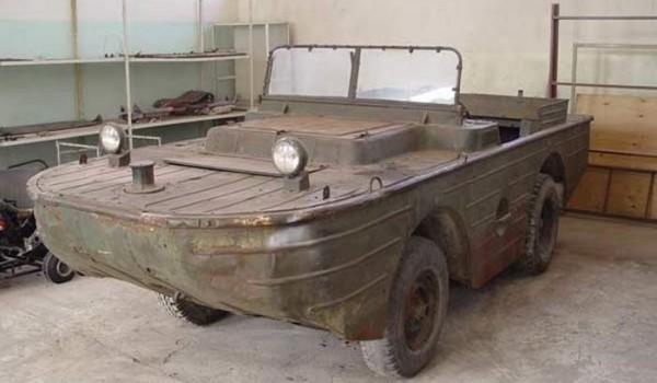 ГАЗ-011 или МАВ – малый автомобиль водоплавающий