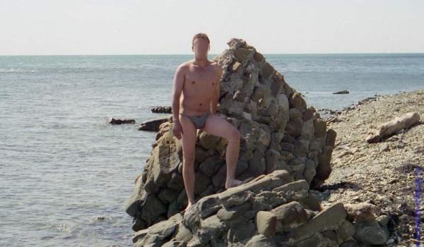 После долгой дороги очень приятно искупаться в теплом Черном Море.