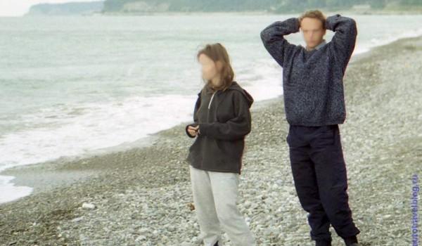 Ребята купаться не рискнули. 1997 год.