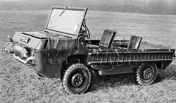 Плавающий транспортер переднего края (ТПК) - конструктор Б. М. Фиттерман.