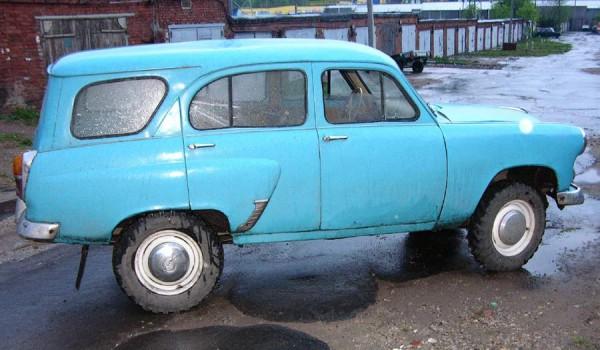 «Москвич-411».