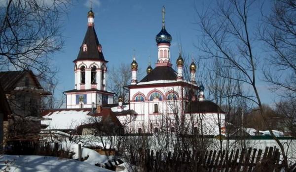 Церковь в Переславле-Залесском.