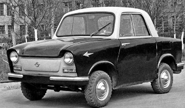 НАМИ-031. 1957 год.