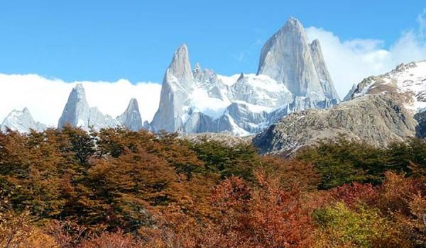 Местечко El Chalten в Аргентине.