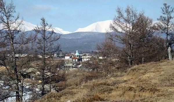 Байкальский пейзаж. Поселок Байкальское. 2010 год.