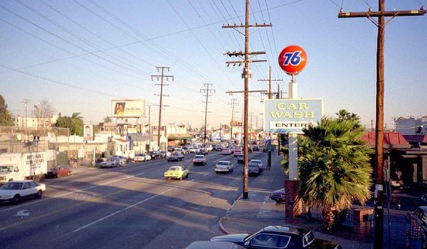 Улица Венеция. Лос-Анджелес. 1990 год.