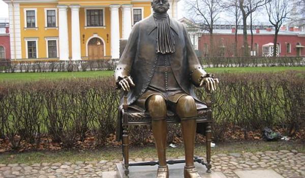 Это такой у них памятник Петру - основателю империи. Санкт-Петербург. 2010 год.