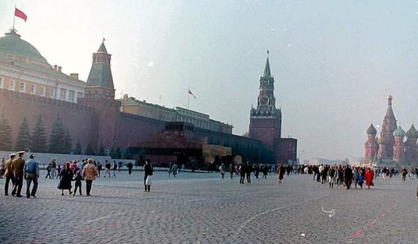 Москва. 1991 год.