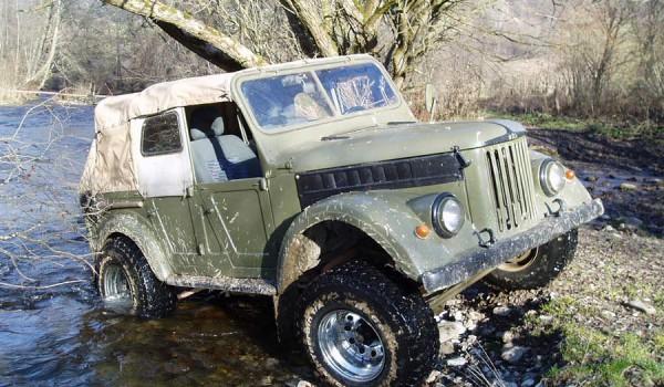 ГАЗ-69А.