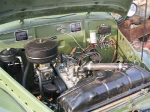 ГАЗ-69 получил от ГАЗ-М20 «Победа» 50-сильный двигатель.