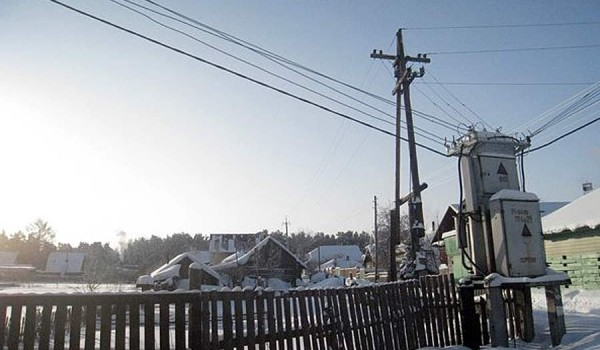 Поселок под Новосибирском. 2010 год.