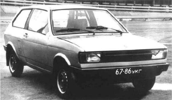Прототип ЗАЗ-1102 «Таврии» 1974 года.