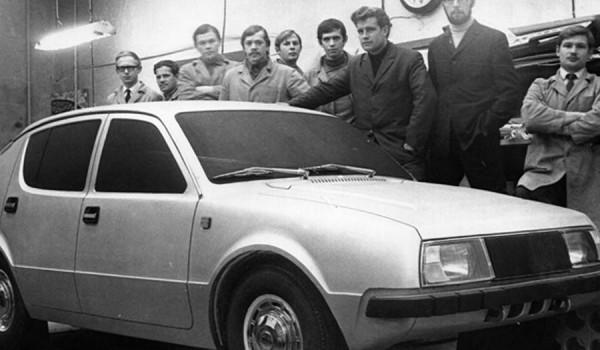 Бюро художественного конструирования ИжАвто. 1971 год.