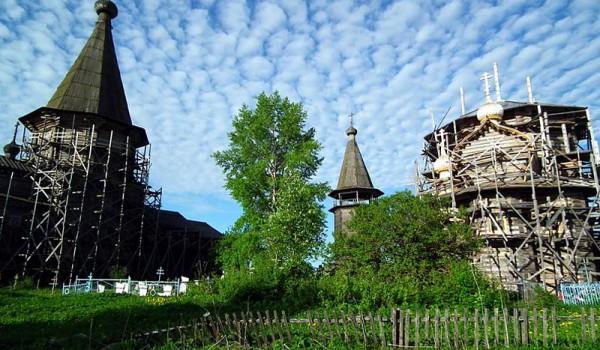 Село Лядино. Архангельская область. 2011 год.