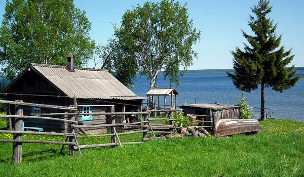 Озеро Лекшма. Архангельская область. 2011 год.