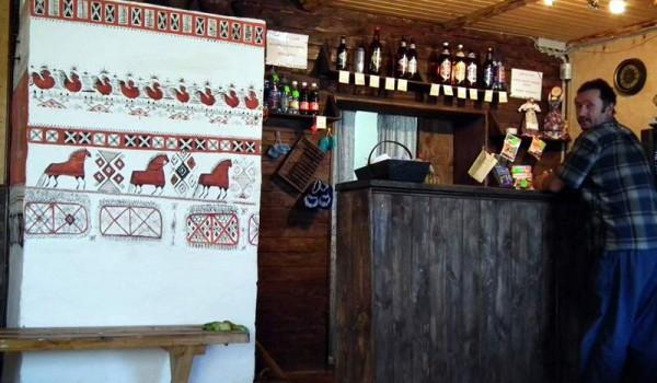 Кафе-бар в Лядино. Архангельская область. 2011 год.