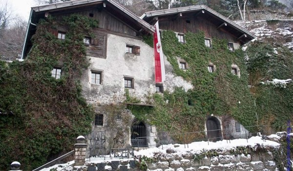 Зимний Раттенберг (Rattenberg) - родина тирольского горного хрусталя. 2011 год.
