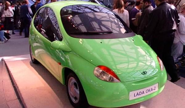 «Лада Ока-2» – концепт-кар, выполненный в стиле «биодизайн».