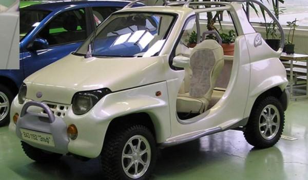 ВАЗ-1152 (ВАЗ-11511) «Эльф» – развитие идеи «Гнома».