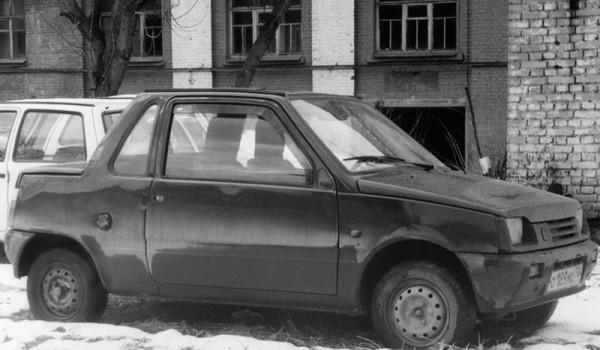 СеАЗ-купе – экспериментальное двухместное купе на базе «Оки».