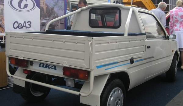 СеАЗ-1313 – опытный пикап, разработка 2005 года.