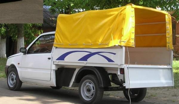 СеАЗ-11116-60 – опытная версия пикапа с полурамной архитектурой и рессорной задней подвеской.