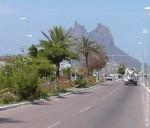 Дорога к рудникам. Санта-Розалия. Мексика. 2011 год.