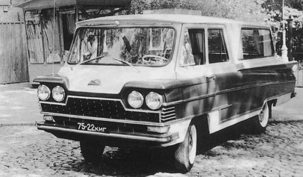 Микроавтобус «Донбасс» 1964 - 65 гг.