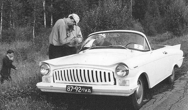 Автомобиль «Турист»  А. Парафенко.