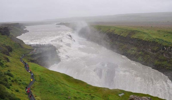 Неледовая Исландия. 2012 год.